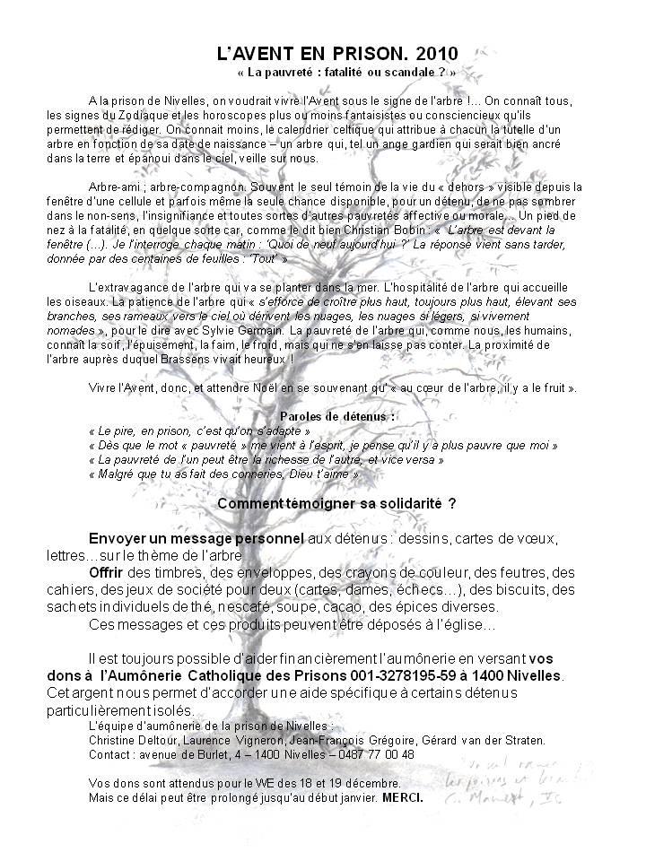 Avent en prison - dem dons arbre noel 10 3