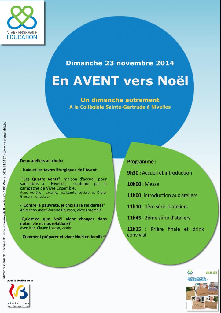 Affiche Nivelles 23-11-14