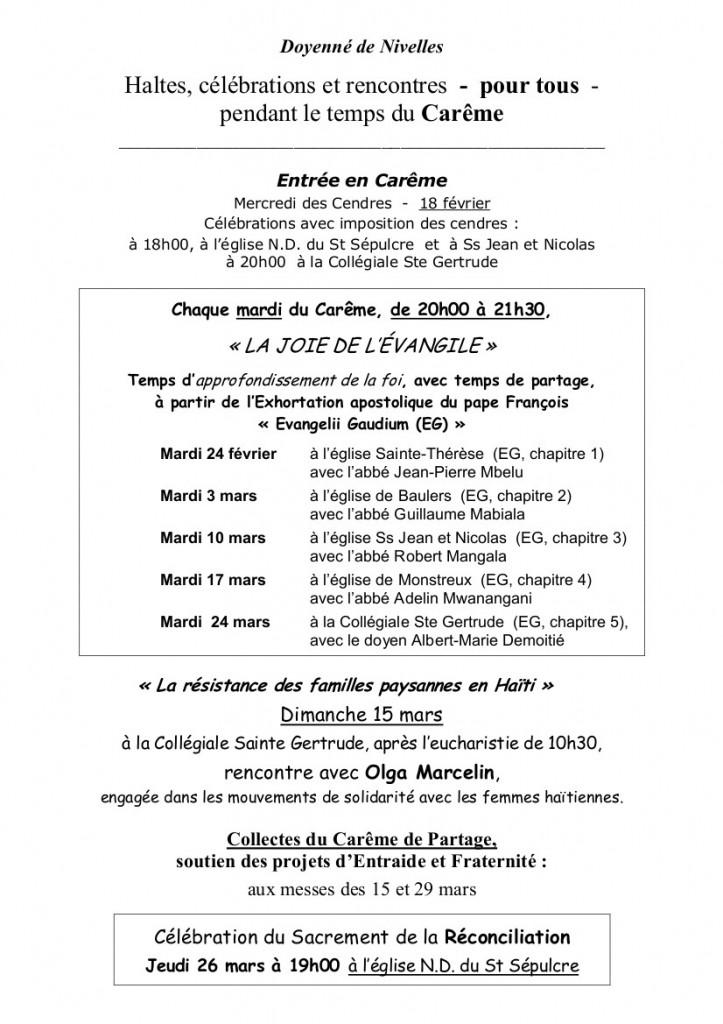 Affiche_Carême 2015
