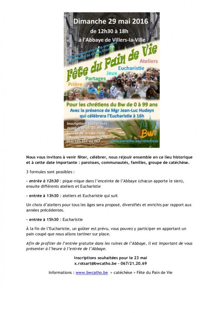 160529-Fête du Pain de Vie