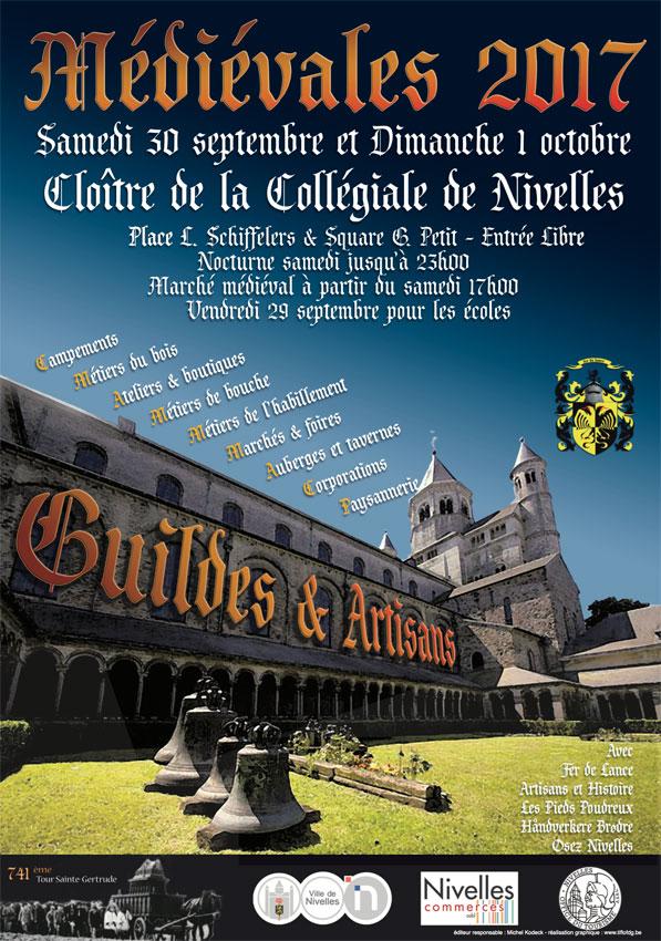 Affiche Médiévales 2017